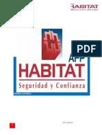 Afp Habitad Informe