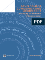 Paolo Mefalopulos-Development Communication Sourcebook_ Broadening the Boundaries of Communication (2008)