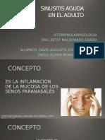 Sinusitis Aguda