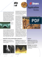 Struers Application Note - Metallographic Preparation of Fasteners