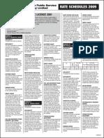 JPS_TariffSchedule2009.pdf