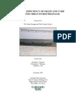 CSU Street Inlet Study Final Report 2009