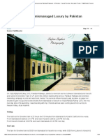 Green Line Train - A Mismanaged Luxury by Pakistan Railways - A Review - Casual Forums _ Aircrafts _ Trains - PakWheels Forums