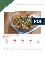 Salata de Cartofi Cu Ridichi _ Retete CA La Mama
