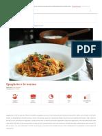 Spaghete a La Norma _ Retete CA La Mama