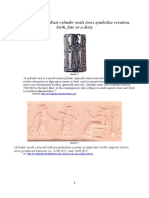 On Ancient Near East Cylinder Seals Tree