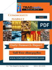 Commodity Daily Research Report 02-05-2017 by TradeIndia Research