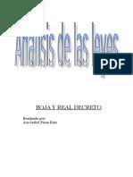 Analisis de Las Leyes