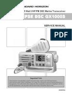 GX1000 Service Manual
