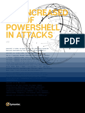 Increased Use of Powershell in Attacks 16 En | Malware | Command
