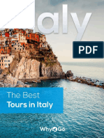 The Best Tours in Italy