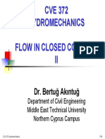CVE 372 HYDROMECHANICS - 2 Flow in Closed Conduits 2.pdf