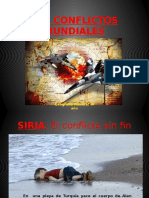 los conflictos mundiales