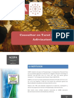 Consultor de Tarot y Tecnicas Adivinatorias