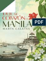 Marta Galatas - Deje Mi Corazon en Manila