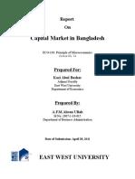 Report on Bangladesh Capital Market