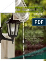 State of Rainwater Harvesting In The United States of America