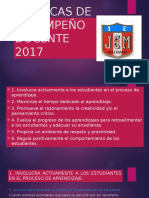 RUBRICAS DE DESEMPEÑO DOCENTE 2017.pptx