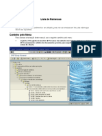 VL10C - Lista de Remessas