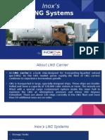 Inox India - LNG Systems