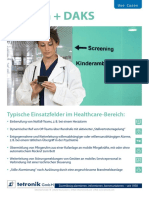 Flyer Use Cases Healthcare de Screen