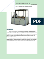 3a Punching Machine With Cover