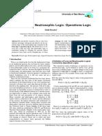 Fuzzy Logic vs. Neutrosophic Logic