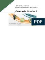 Using Camtasia Studio7