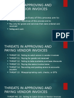 Threats-Approving and Paying