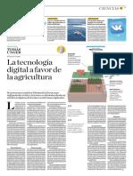 La Tecnología Digital a Favor de La Agricultura