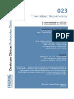 Traumatismo Raquimedular 07082014 (1)