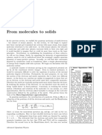 Chapter 10 -  Molecular Quantum Physics