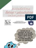 PRESENTACION CARACTERISTICAS
