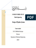 Design of Pipeline Systems 3