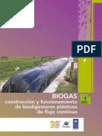 Biogas-construccion y Funcionamiento Biodigestores