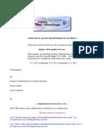 Instalacion OpenMeetings 3.0.x en Wheezy