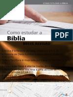 Lição 02 - Como Estudar a Bíblia