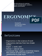 Ergonomics 2013