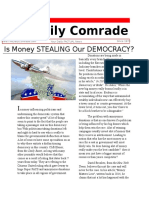 is money influencing our politicians and undermining our democracy  1   1