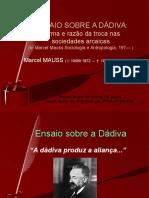 MAUSS.ensaio Sobre a Dadiva