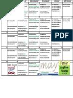FNT May 17 Classes