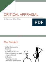 Kul 7 - Critical Appraisal Fix