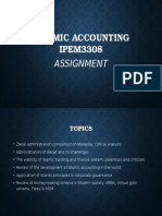 Islamic Accounting Assignment