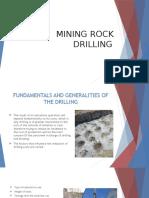 Mining Rock Drilling