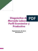 Sucre II Diagnóstico Del Mercado Laboral y Perfil Económico y Productivo Del Departamento de Sucre.