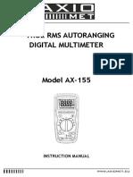 INSTR-AX-155 - EN