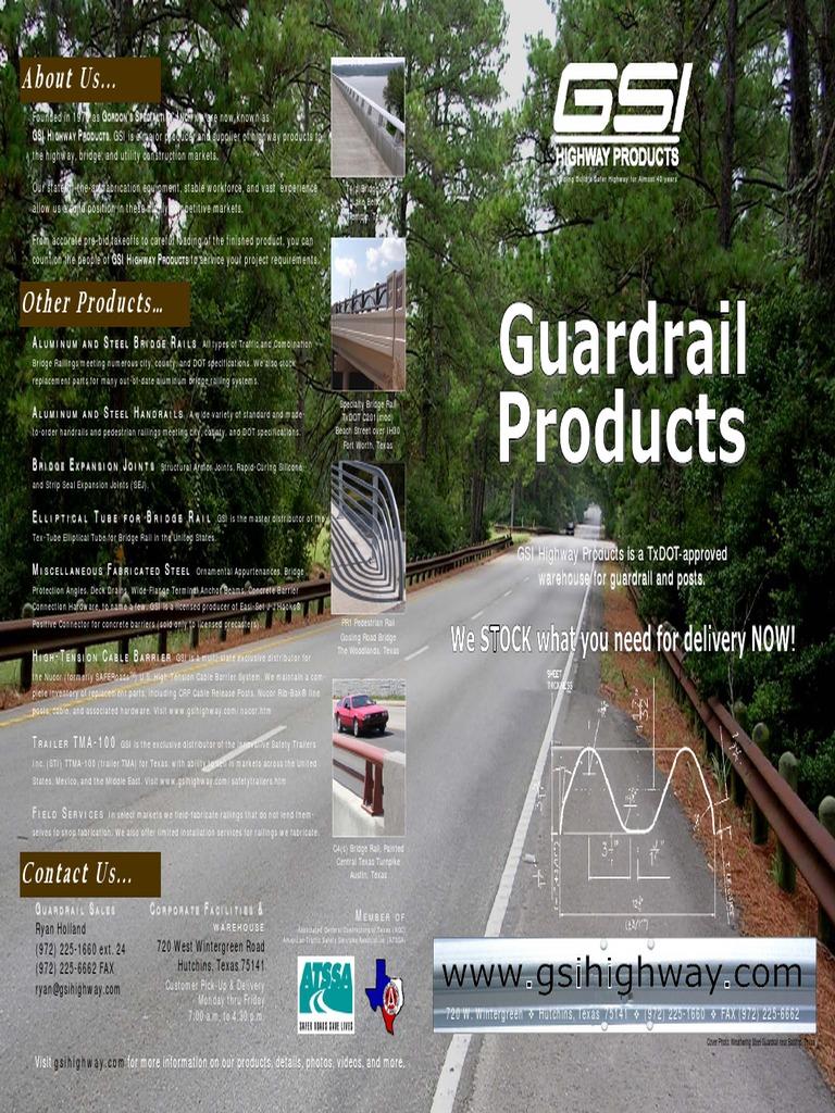 GuardrailBrochurev 2 1 | Transport Infrastructure | Transport