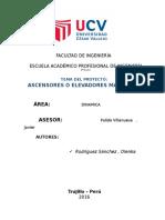 Informefinal Ascensor