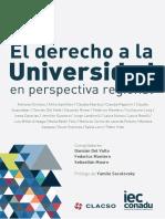 El Derecho a La Universidad