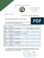 Surveillance Examen EFS2